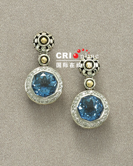 Blue Korean Jewelry