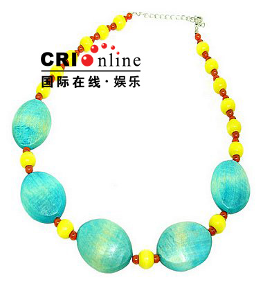 Colorful Chunky Beaded Korean Jewelry Necklaces