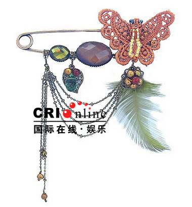 Elegant Victorian Korean Jewelry Brooches